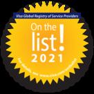 Visa - on the list